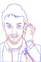 Chris Martin Sketch by Lyd2000