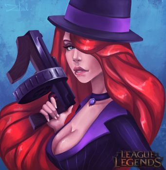 Mafia Miss Fortune by zhulikova