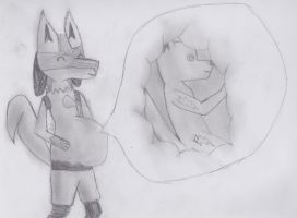 Lucario Vore by DSthewolf