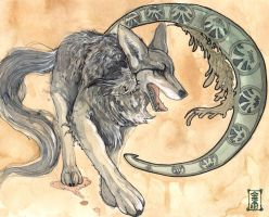 Nomad Wolf by Valhalrion