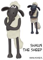 Shaun the sheep by asiaq
