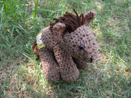 Doctor Whooves ami by gwilly-crochet