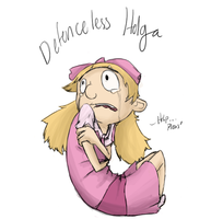30 DAY CHALLENGE DAY FIVE Helga colored by MonkeyMonk14