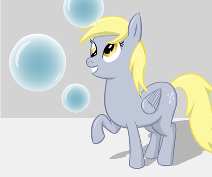 Derpy Bubbles [Derpy Day] by Kachu-AppleKiwi