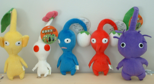Stuffed Pikmin by FragTheDead