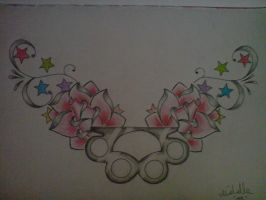 chest tattoo design2 by cherry-storm
