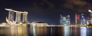 Marina Bay by adityapudjo
