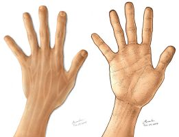 I have two hands... by dylanliwanag