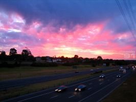 Sunset over Monash. by paolo91