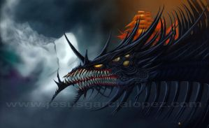 Black Dragon (Imaginaerum) by Raro666