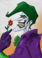 Joker colored by derekblairart