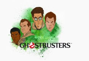 Ghostbusters 25th Anniversary by wernerth