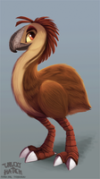 Unlucky Hatch - Moa Concept by Cryptid-Creations