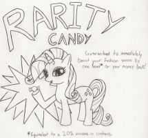 Rarity Candy by Catula