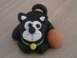 Cat fimo by bimbalove81