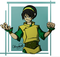 Earthbender Bei Fong by Drixtina