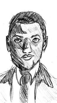 Marcus Sketch by Not-On-Boats