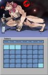 January Calender by Gojihunter31