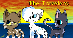 The Travelers :COVER: by CyanStorm