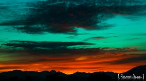 Sunset in Colima by Ramses-Anael