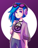 Vinyl Scratch by Looji
