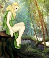 Forest Elf by chesney