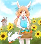 Commission: A rabbit stole my carrot!!! by ProjectXeniX