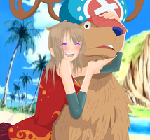 .:Umiko And Chopper:. by alexpc901