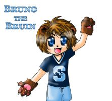 Bruno the Bruin--Coloured by BotherMeOro