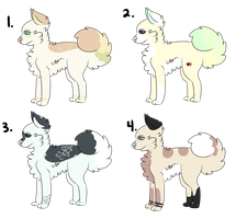 Adoptables (OPEN) (lowered price) by Schuffles