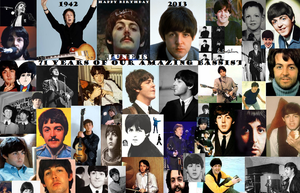 Happy 71 Birthday Paul! Collage by BeatlesBoy26