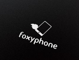 Free Logo Template - Foxy Phone by genotas