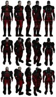Mass Effect, Colossus Armour Medium, Male Ref. by Troodon80