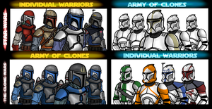 Who is an individual and who is a clone? by AraxussYexyr