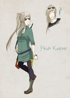 CC: Finch Keever by AhLaToad