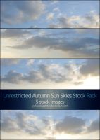 Autumn Sun Skies: Stock Pack by StockSaphitri