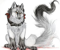 Seras..dark shadow wolf by Suenta-DeathGod