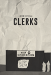 37 - Clerks Poster by disgorgeapocalypse