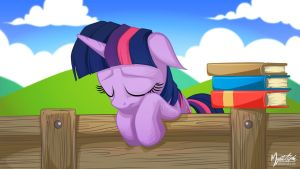 Sad Twilight Sparkle 2.0 16:9 by mysticalpha