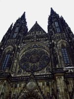 Gothic Cathedral front by vladioglas
