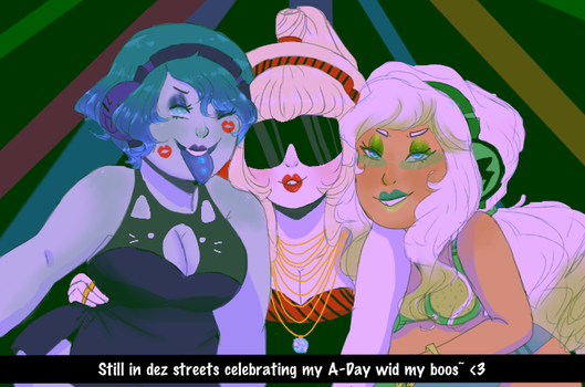 Birthday Clubbing by Ask-MusicPrincess3rd