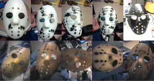 How To Make A Jason Mask Pt. 1 by DeviantBoss