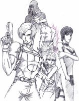 Resident Evil 4 by celsohenrique