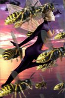 The Wasp by DaswookofHeromorph