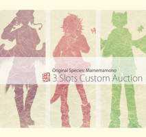 [CLOSED] Mamemamono :: Custom Auction by mayoujii