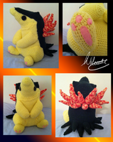 .:Comish:. Typhlosion Crochet by SonARTic