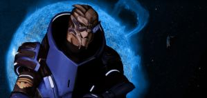 Final: Garrus Vakarian by SarahJaneArt