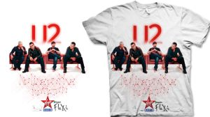 2nd T-Shirt for U2 by MDesignN