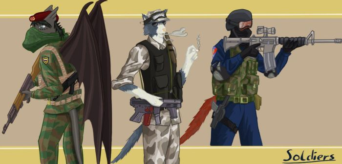 SpecialForces ready for action by SteinWill