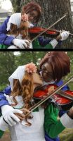Cos : Violin Lesson by Rupyon
